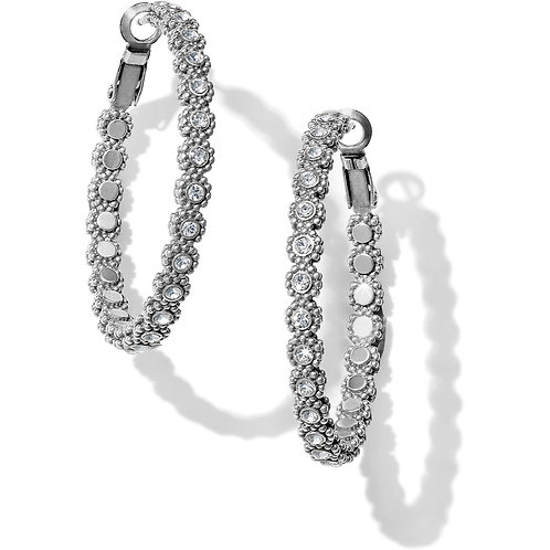 Brighton - Twinkle Splendor Medium Hoop Earrings