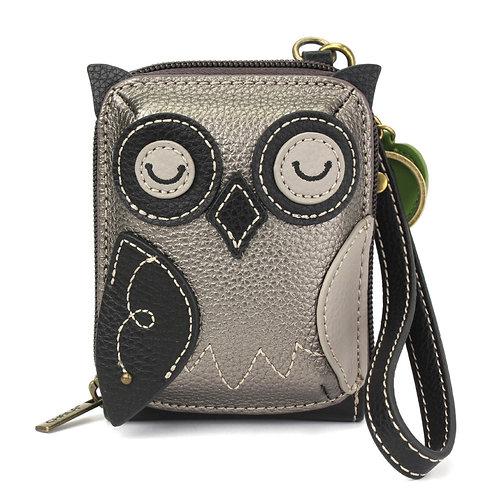 Chala - Cute-C Credit Card Holder Wristlet - Owl