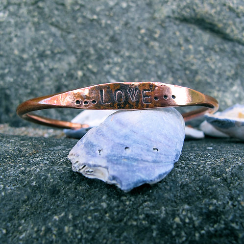 "Recycled Copper ""…Love…"""