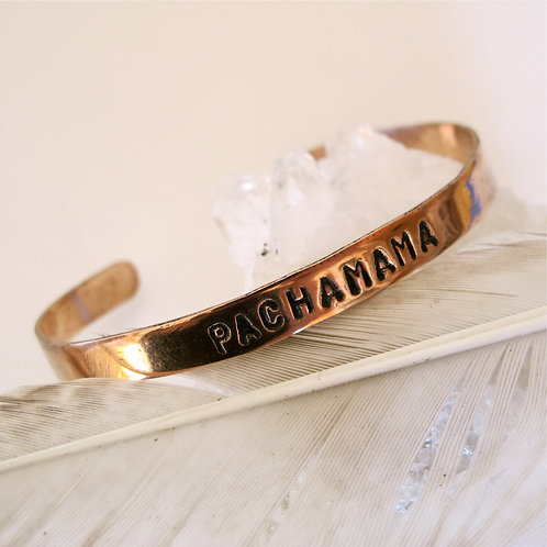 """Recycled Copper """"Pachamama"""""""
