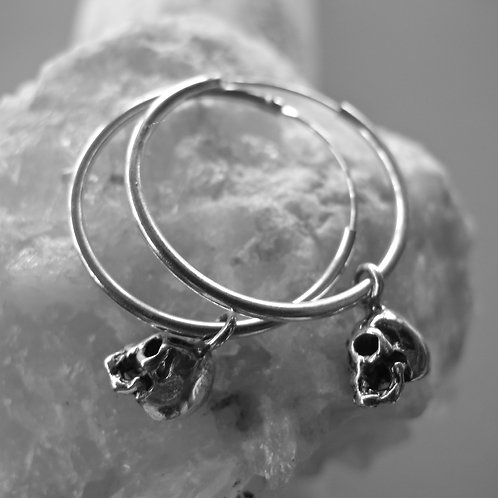 Sterling silver rings and skulls