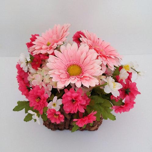 Floral Arrangement with Pink Gerbera