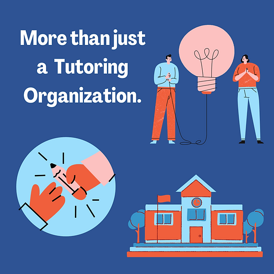 Students Tutor Students is more than just a Tutoring Organization.
