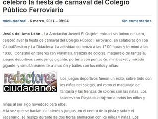 Fiesta de Carnaval en C.P. Ferroviario.