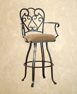 Swivel Barstool With Arms Valencia