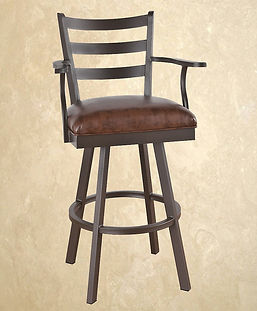 Swivel Barstool With Arms Claremont