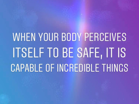 Convince Your Body That it is Safe
