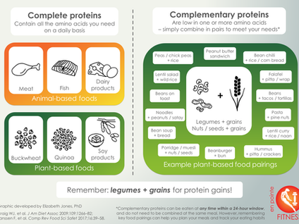 Protein Combining for Optimum Nutrition