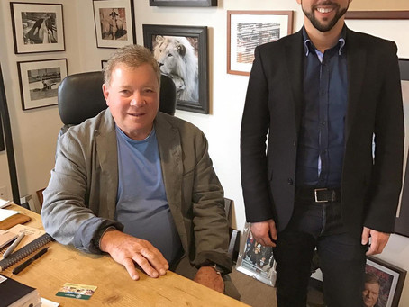 Celebrating Three Years Representing Client William Shatner