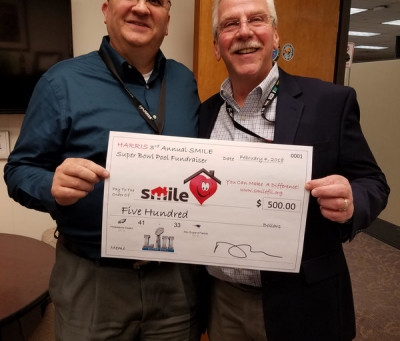 Thank You to Rick Lynch and the Harris Foundation!