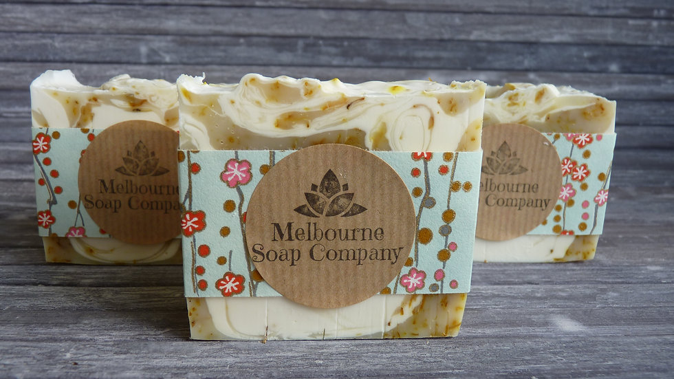 Clementine and Prosecco Soap