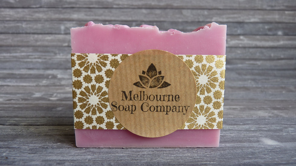 Apple, Raspberry Leaf and Cotton Seed Oil Soap