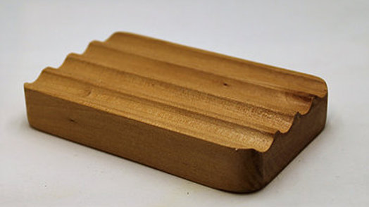 Hemu Wood Soap Dish