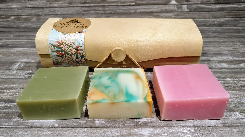 Bamboo Triple Soap Gift Pack
