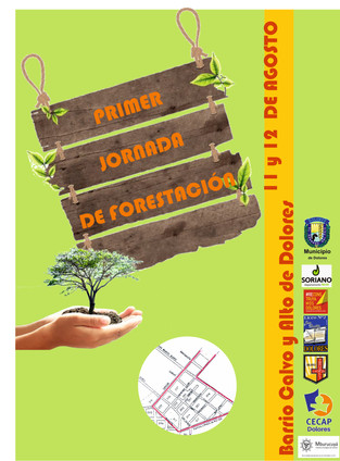Reconstruyamos Dolores colabora con la Reforestación de Dolores