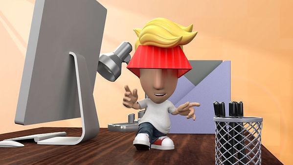 tin toy digital Tin Toy Digital Marty Napoleon animation commercial test