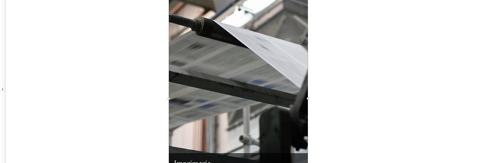 Document Unique Imprimerie  - Illustration