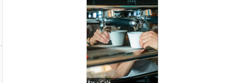 Document Unique Bar Café - Illustration