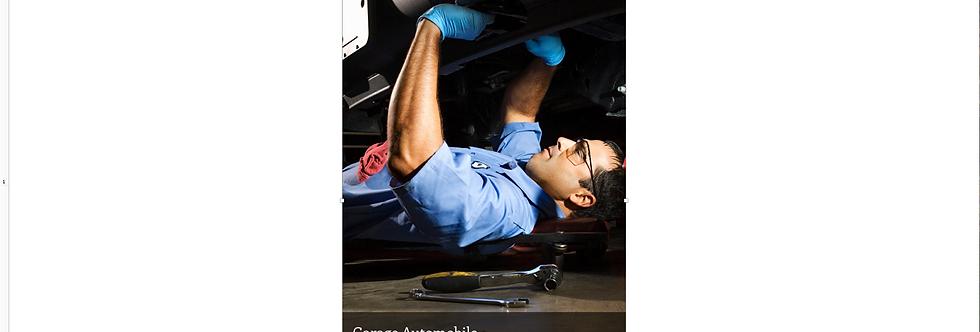 Document Unique Garage Automobile - Illustration