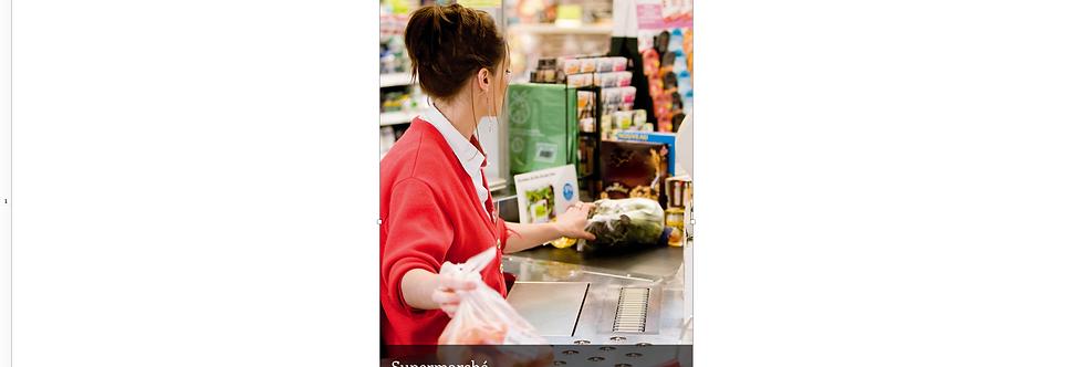 Document Unique supermarché - Illustration
