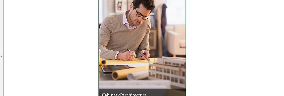Document Unique Cabinet d'Architecte - Illustration