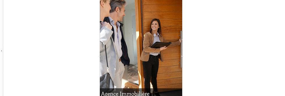 Document Unique Agence Immobilière - Illustration