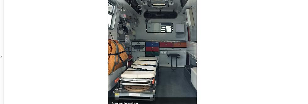 Document Unique Ambulancier - Illustration