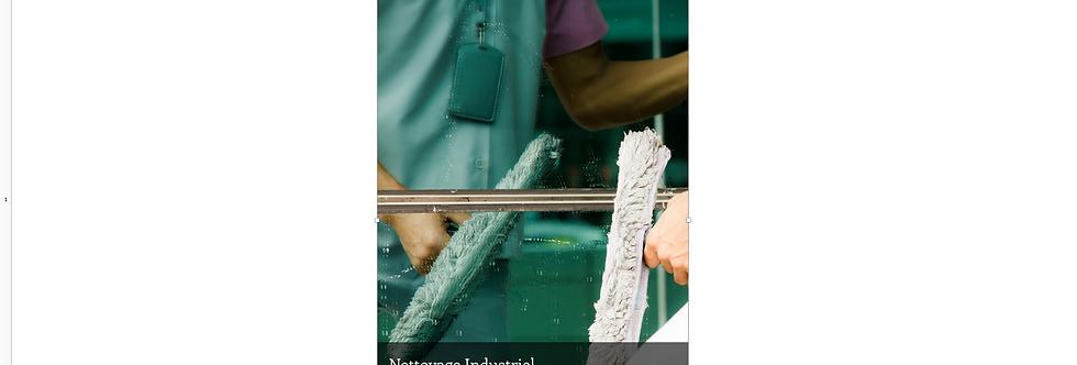Document Unique Nettoyage Industriel - Illustration