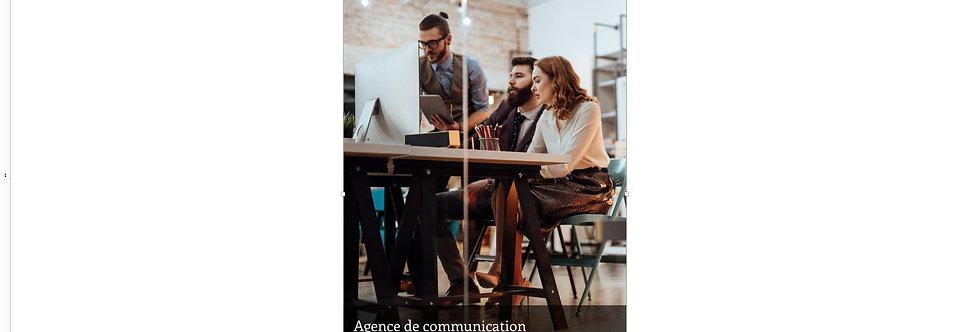 Document Unique Agence de Communication - Illustration