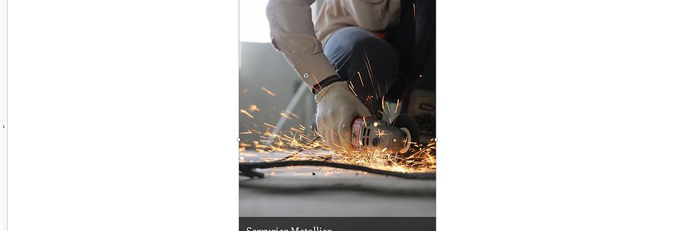 Document Unique Serrurier Metallier - Illustration