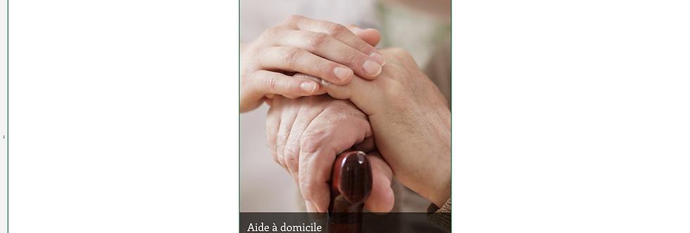 Document Unique Aide à domicile - Illustration