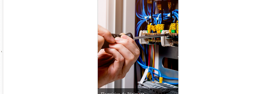 Document Unique Electricien du Bâtiment - Illustration