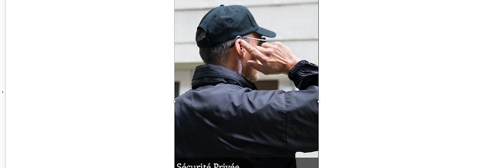 Document Unique Sécurité Privée - Illustration
