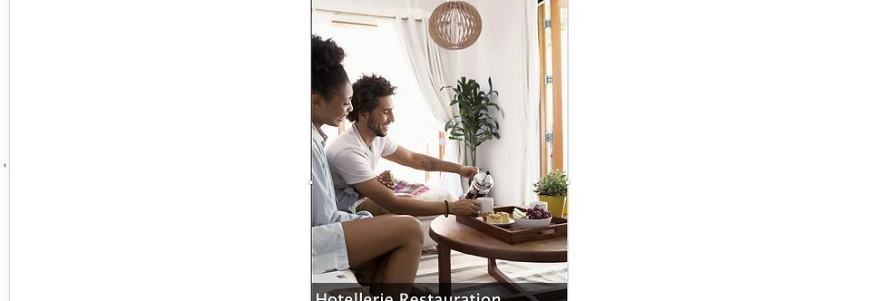 Document Unique Hôtellerie Restauration - Illustration
