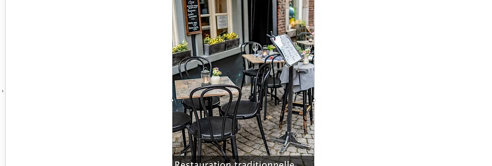 Document Unique Restauration Traditionnelle - Illustration