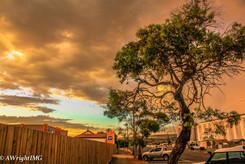 Sunset in SA