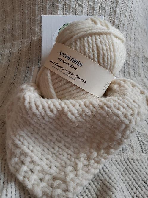 Marshmallow Charollais Super Chunky Yarn (100g)