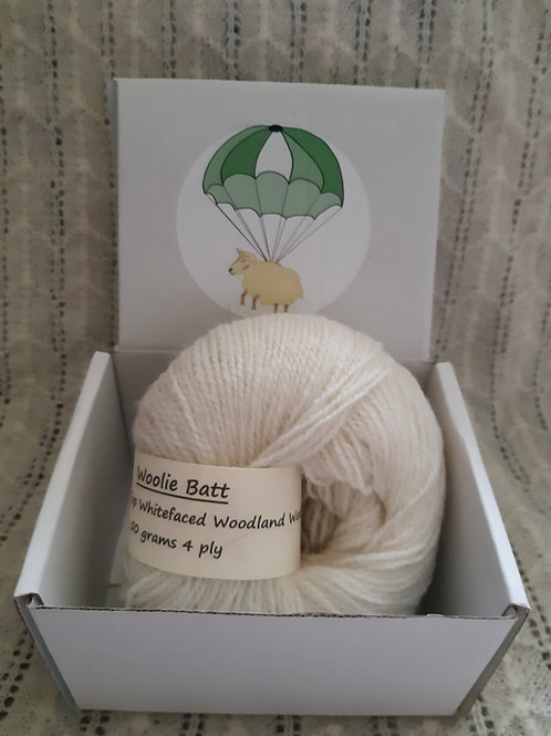 Croft Top Whitefaced Woodland 4 ply yarn (50g)
