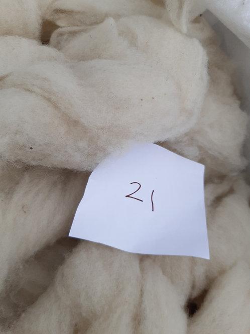 21 - 200g Pure British Natural White Sliver