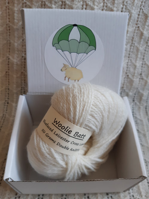 Bluefaced Leicester Cross Lambswool DK yarn (50g)