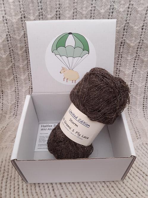 Storm (Shetland/Alpaca Mix)  1 Ply Lace (50g)