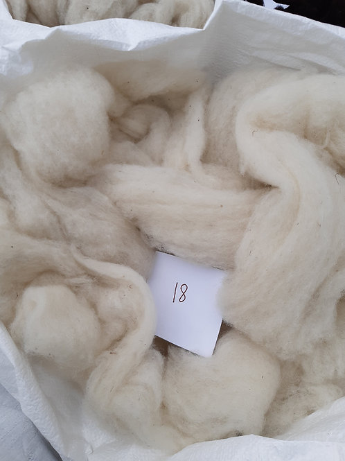 18 - 200g Pure British White Faced Woodland Sliver