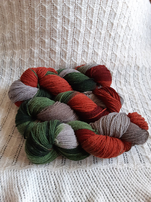 Space Dyed DK Yarn (100g hanks)