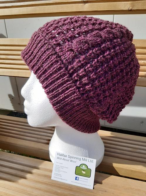 Slouch Plum Hat