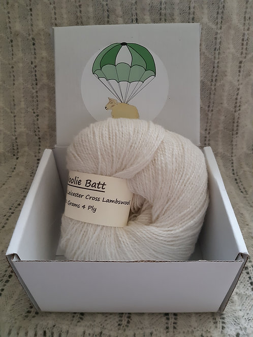 Bluefaced Leicester Cross Lambswool 4 ply (50g)