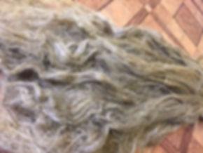 Long flax fiber