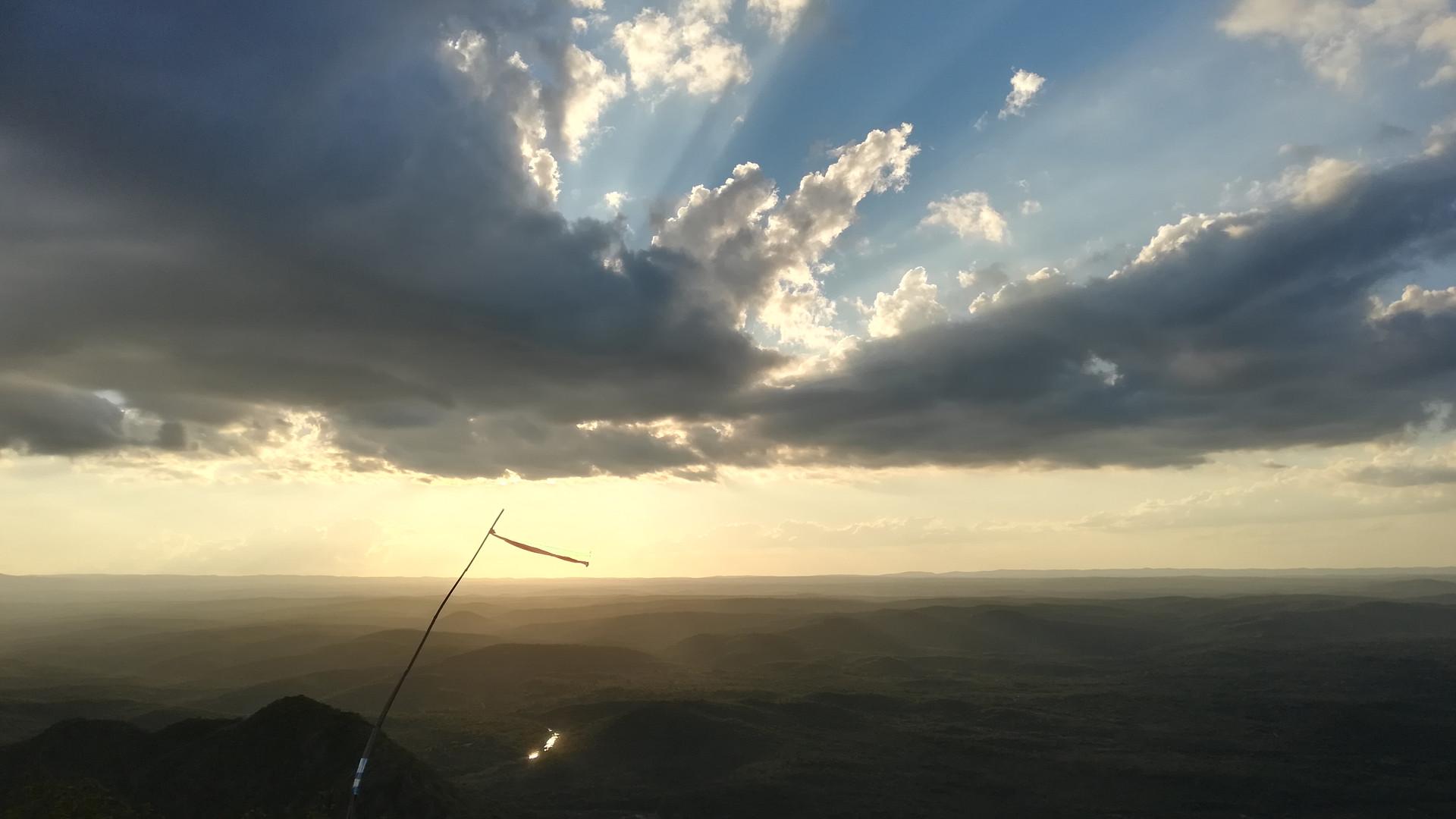 Sunset in Cuchi Corral