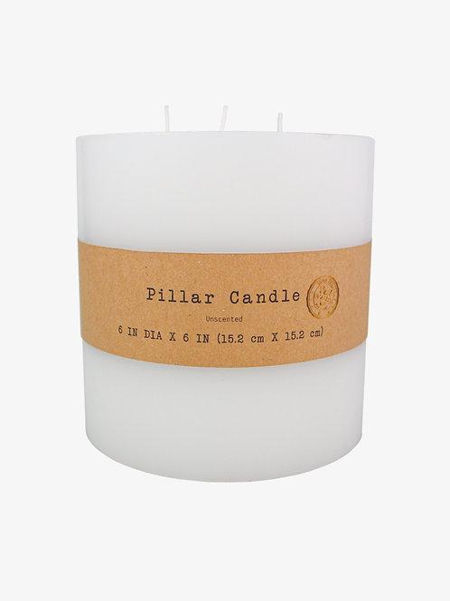 """6"""" x 6"""" Pillar Candle"""