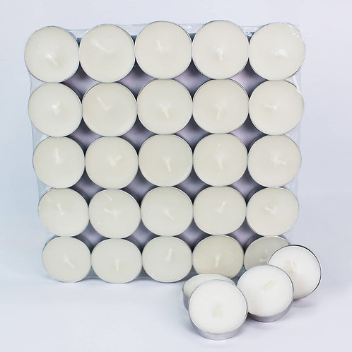 Basic tealight candles (25 pack)