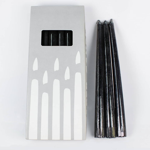 Basic taper candles (12 pack)